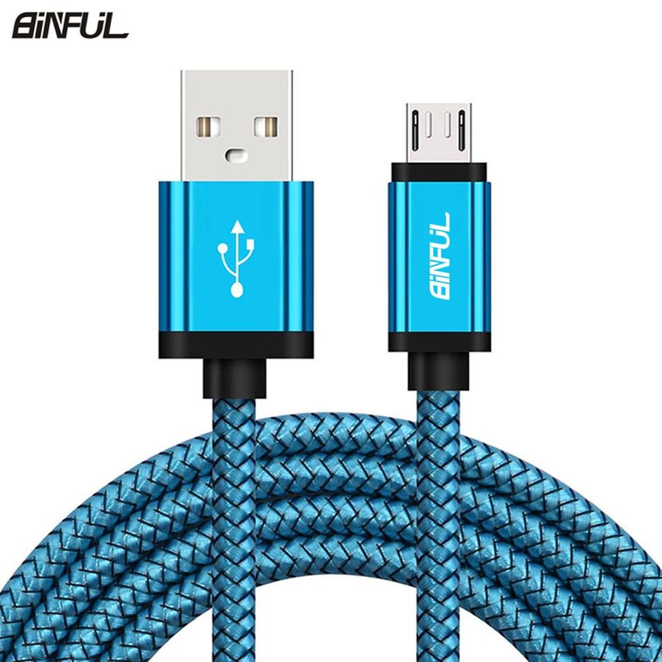 Micro USB зарядный кабель для Samsung Galaxy A3/A5/A7 J3 2016 S6/S7/Edge 1/2/3 метра длинный кабель для зарядки мобильного телефона