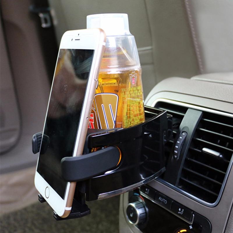 Soporte de la taza de la bebida del coche soporte del teléfono móvil para Honda civic crv fit jazz dio city hornet hrv Subaru Forester impreza Outback