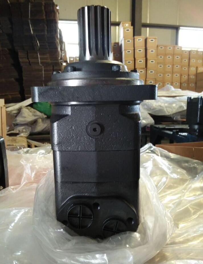 MOTOR de aceite hidráulico MLHV500 brida 4 perno eje 50mm llave paralela 14x9x70
