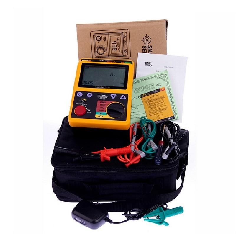 AR3123 High Quality Digital Insulation Resistance Tester Voltage Meter Non-destructive Measurement Electrical System Transformer