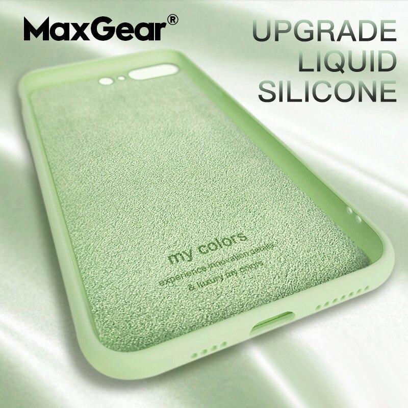 Para Oneplus 5T 6T 7 Pro funda Original de silicona líquida de goma TPU cubierta para One plus 5 6 8 Ultra delgada a prueba de golpes Carcasa protectora