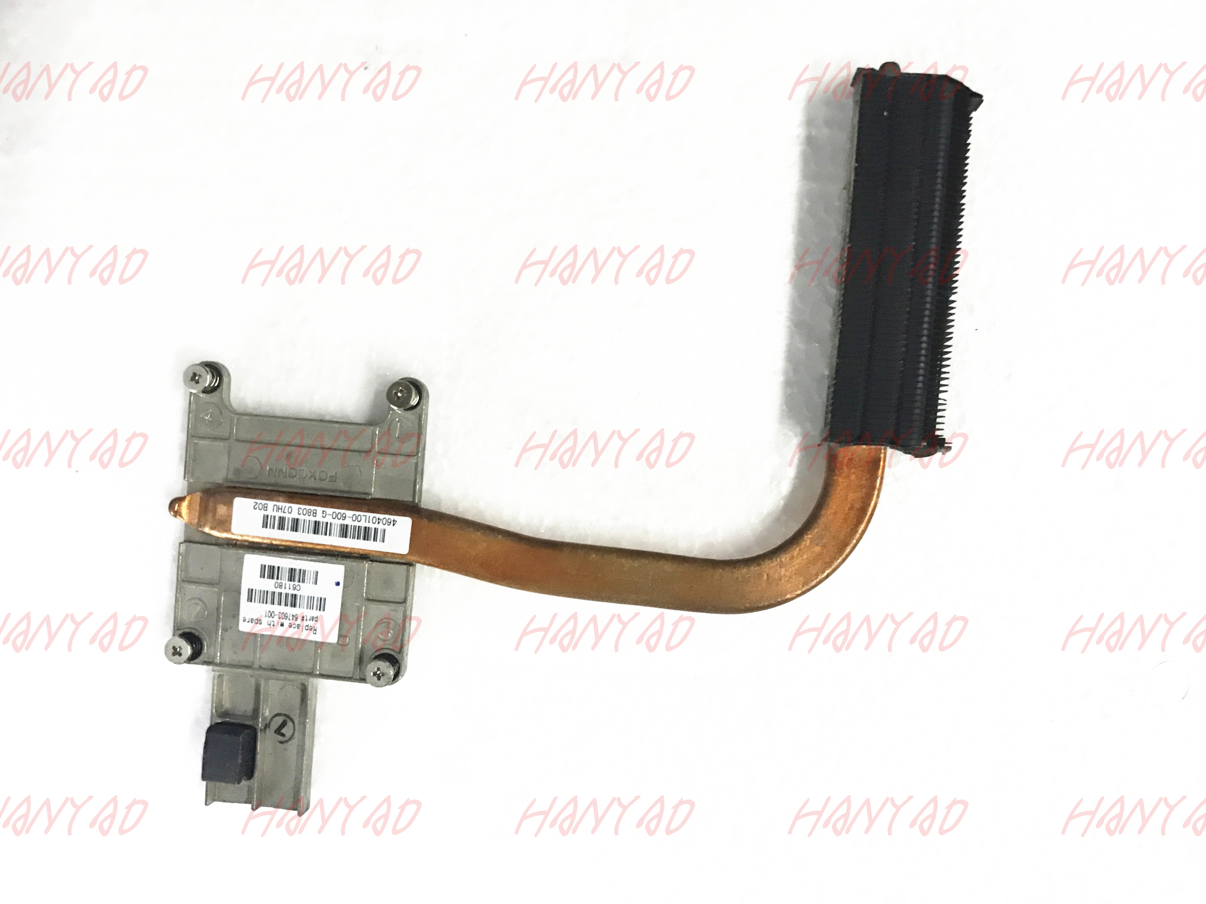 Refrigerador portátil para HP 6560b 6570b 8560p 8570p laptop refrigerador refrigerar 647603-001 Frete Grátis 100% placa de teste ok
