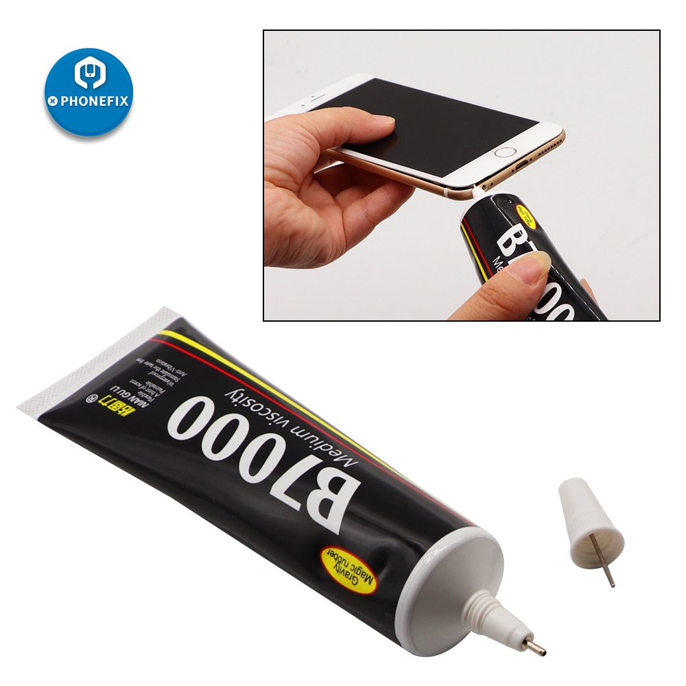 Multi-Purpose B7000 Transparent Strong Super Glue Adhesive Suitable for DIY LCD Screen Phone Case Gl