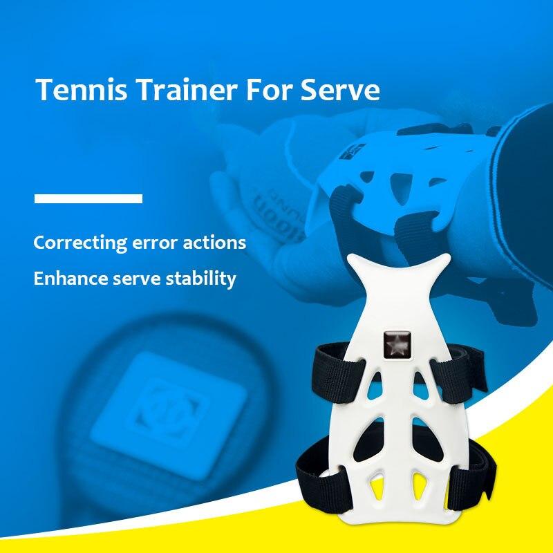 Palle da Tennis Trainer Servire Strumento di Formazione Self-Study raquete de Tenis Palla Macchina Pratica Accessori Corretto Da Polso Postura