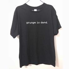 Nieuwe Zomer Grunge Is Dode Kurt Cobain Nirvana 90 S Rock Grappige T-shirt Mannen Grappig Katoen Korte Mouw T-shirt tshirt Camiseta