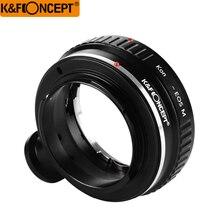K & F Concept переходное кольцо объектива для Konica AR Крепление объектива для Canon EOS M EF-M крепление M M2 M3 беззеркальное крепление для камеры со штатив...