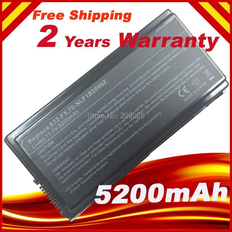 5200mAh batería de portátil para Asus F5RL F5Ri F5SL F5Sr F5V F5...
