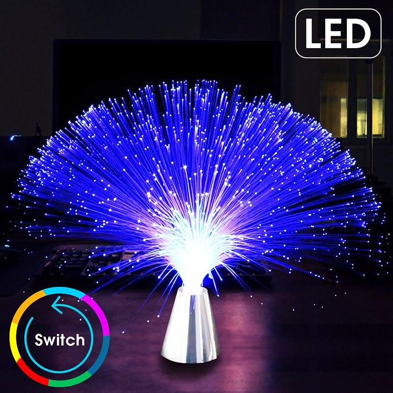 Festival Atmosphäre Licht Bunte LED optische faser Laterne Lichter Sternen himmel Hochzeit Party Weihnachten Dekoration für home