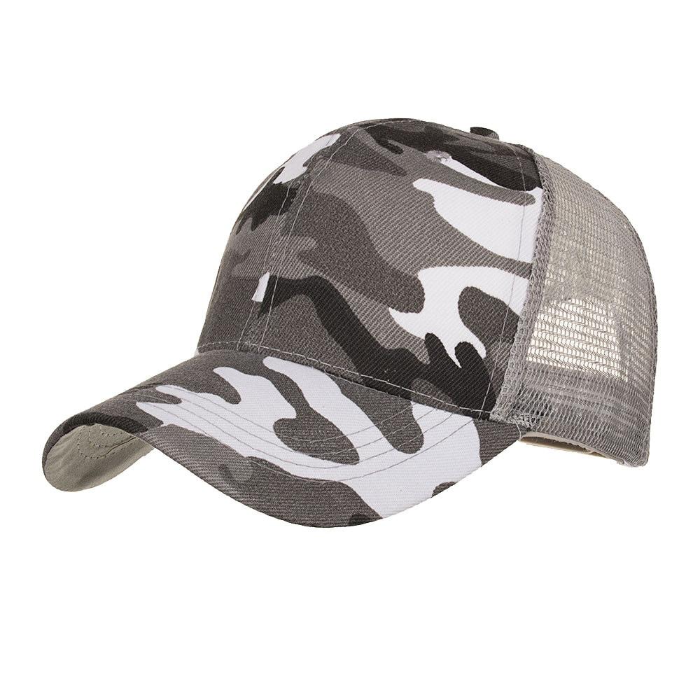 FREE OSTRICH 2019 Baseball hats for women Camouflage Summer Cap Mesh Hats For Men Women Casual Hats Hip Hop Baseball Caps new