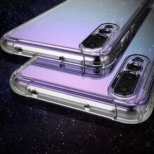 Coque souple pour téléphone Huawei Nova 3 3i P30 P20 Lite Mate 20X Mate 20 Lite Mate 10 Pro étui transparent Anti-choc