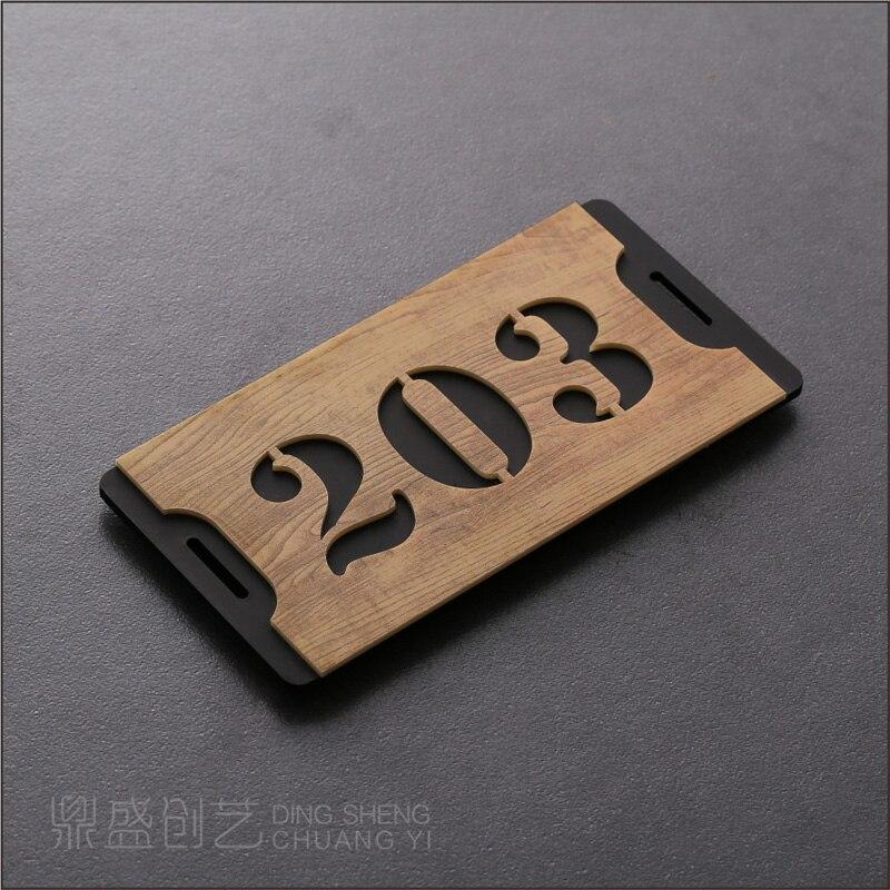 200*100 цифр номер дома европейский стиль знак двери ворот на заказ квартира дом