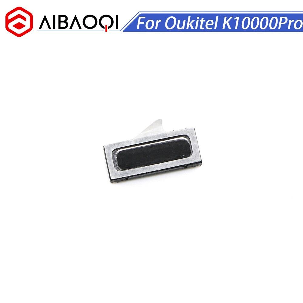 AiBaoQi Original Novo Oukitel K10000Pro speaker receiver Frente Reparação do Fone de Ouvido Acessórios Para Oukitel K10000 Pro Telefone