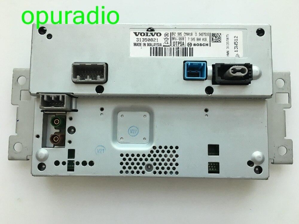 Bosscch original 7 polegada display lcd 31357075 tela para volvo xc60 s60 navegação gps do carro monitor de áudio