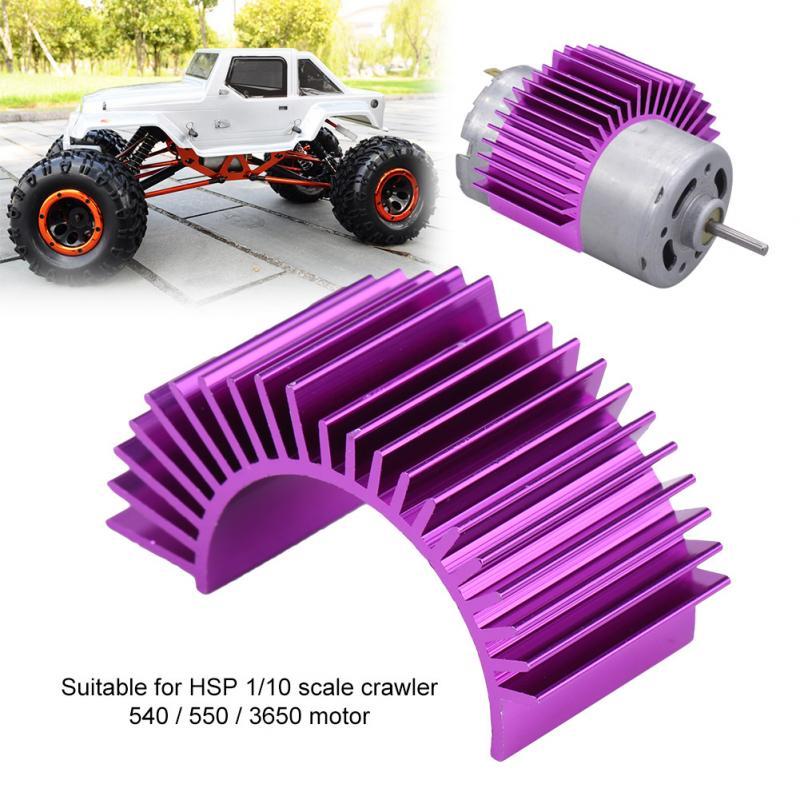 Liga de alumínio Do Motor RC Modelo RC Acessório Liga de Alumínio do Dissipador de Calor do Dissipador de Calor para HSP 110 Rastreador 540 550 3650 RC do motor parte