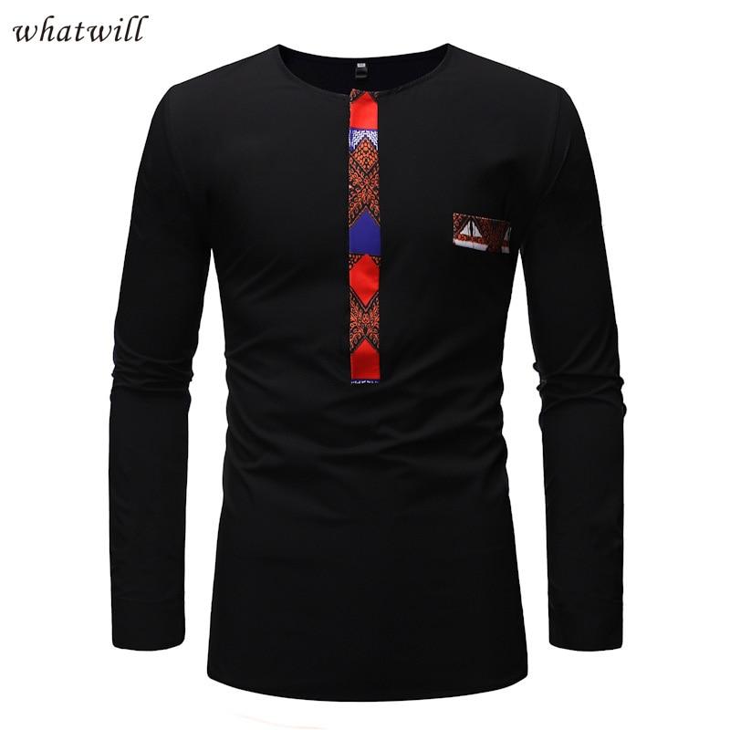 África camisetas de los hombres de moda vestido africano ropa dashiki túnica Africana camiseta de hip hop homme