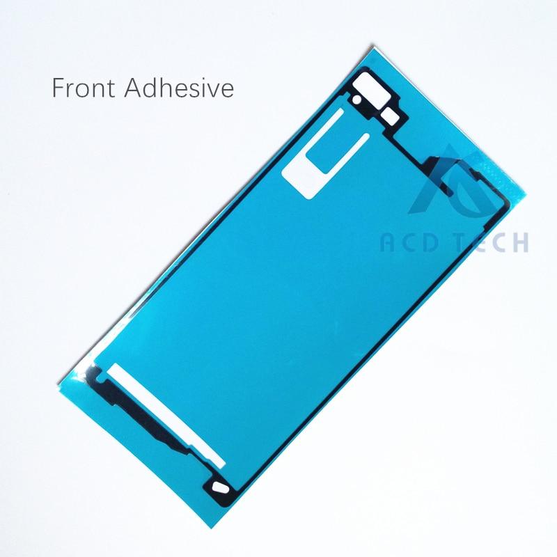 AAA Nuovo LCD Frontale Telaio Coperchio Della Batteria Set Completo Impermeabile Autoadesivo Adesivo per Sony Xperia Z2 L50W