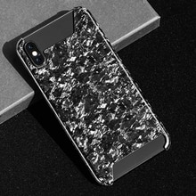 Роскошный кованый композитный мобильный телефон из настоящего углеродного волокна Чехол для iPhone X XS новый модный стиль для iPhone XR XS MAX