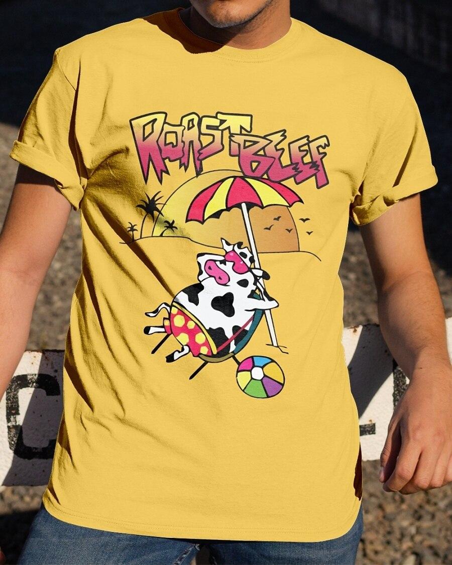 Kuakuayu HJN Unisex carne asada dusty camiseta 80s Vintage moda extraño cosas 3 camiseta gráfica