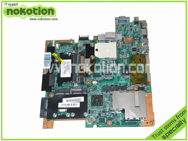 NOKOTION MBW040B001 Motherboard Laptop para Gateway T 1620 T 1625 T 1616 DDR2 Mainboard
