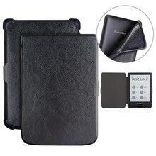 Portefeuille tactile Smartphone étui Pocketbook 622 6 'portefeuille couverture tactile ouvert poche livre