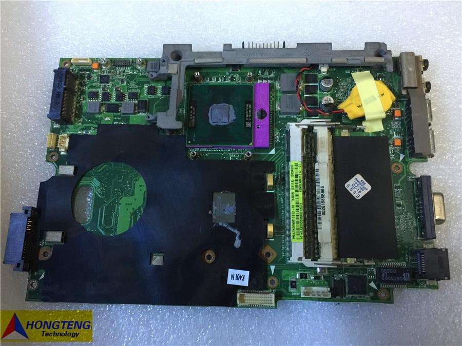 اللوحة الأم الأصلية للكمبيوتر المحمول ASUS K40IN ، اختبار موافق ، K40IN