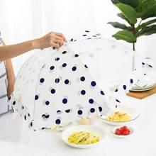 Küche Lebensmittel Abdeckung Tisch Mahlzeit Anti-Fly Net Faltbare Hex Abdeckung Mahlzeit Gaze Abdeckung Aufnehmen Können Mehrere Gerichte