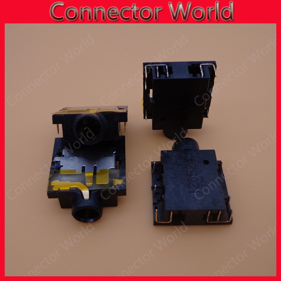 2-100 unids/lote conector de enchufe de micrófono para Acer Aspire 4743 4750 4743 5750 5741 5742 G S Z ZG serie PCB audio jack