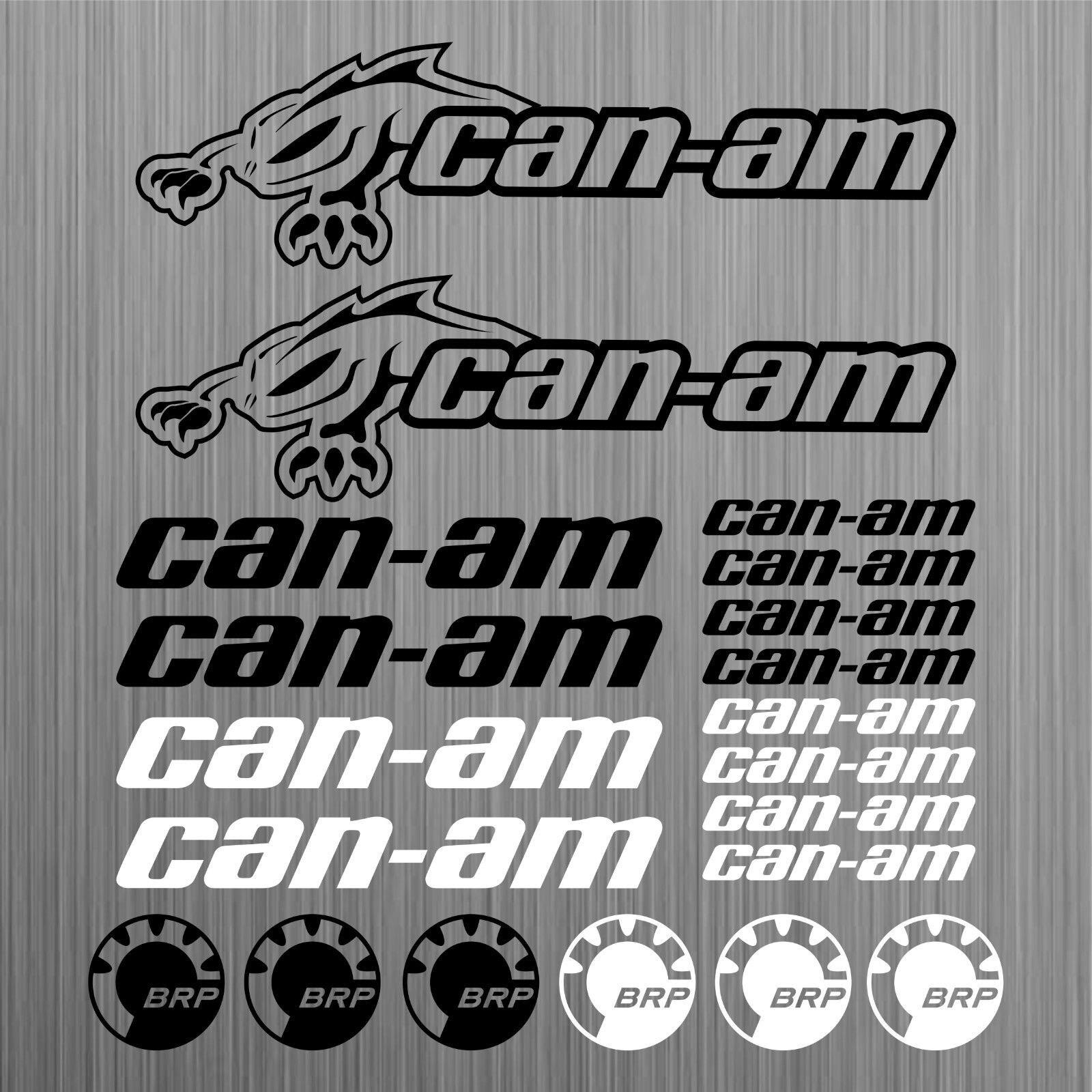 Для can-am canam BRP наклейка quad ATV наклейка 20 шт. автомобильный Стайлинг