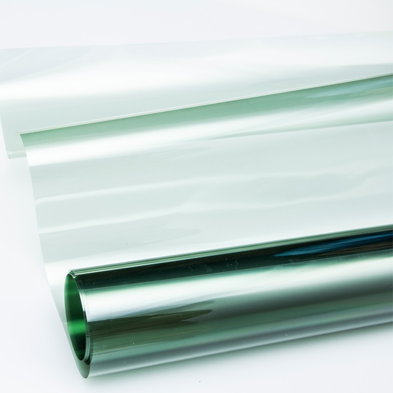 De alta calidad de tinte de la ventana película de vidrio VLT 67%/rollo 1 PLY Auto comercial de protección Solar de película de verano HA-4