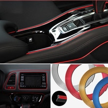 Araba iç dekorasyon kalıplama şeritleri Mitsubishi motors için asx lancer 10 9 x outlander xl pajero spor 4 l200 carisma