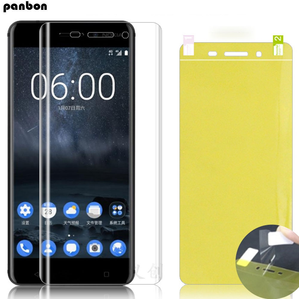 Hydrogel Film For Nokia 2.1 3.1 5.1 6.1 Plus 7.1 Nano film Explosion-proof Full Coverage cover For N