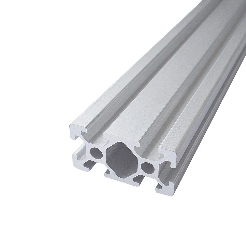 2 stücke 700 800 900 1000 MM CNC 2040 Europäischen Standard Eloxiert Linear Schiene Aluminium Profil Extrusion für DIY 3D drucker Teile