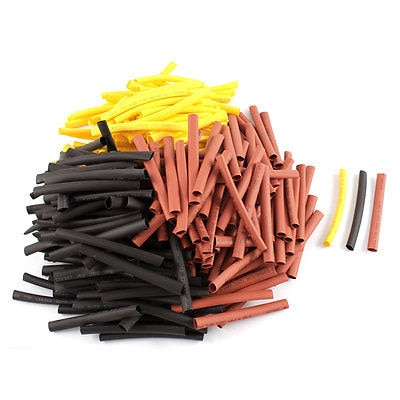 300 piezas. 6mm Dia 21 relación calor contracción tubo aislado Cable cubierta Cable manga