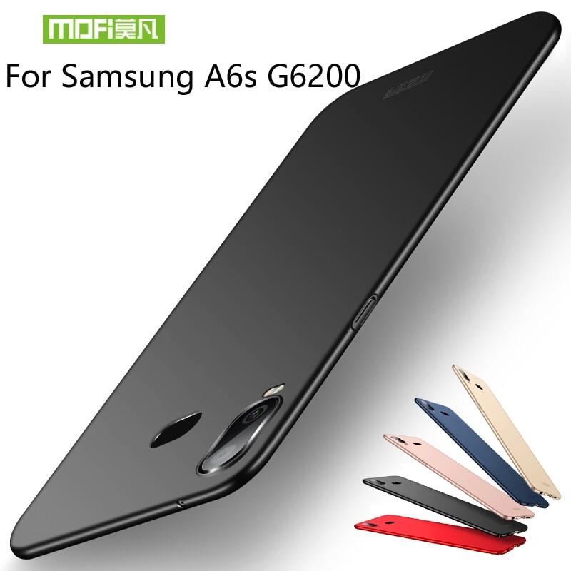 """Para Samsung Galaxy A6S G6200 6.0 """"Caso MOFi Luxo Rígido Capa de Proteção Para Caso de telefone Samsung Galaxy A6S G6200 cobrir"""