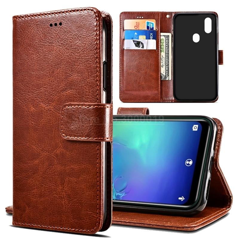 C15 Pro funda estilo negocios Funda de cuero de PU para Oukitel C15/C13 Pro funda Cartera de bolsillo de tarjeta Kickstand bolsas de teléfono Coque