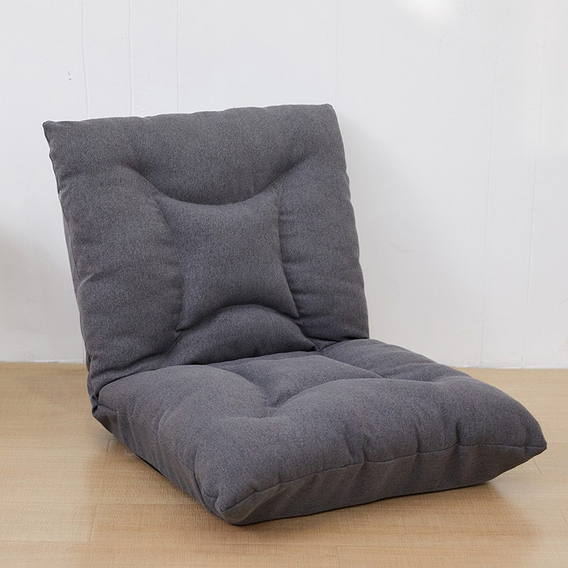 Japanse Luie Sofa Padded Floor Stoel Verstelbare Rugleuning Gaming Stoel Opvouwbare Floor Seating voor Meditatie, Seminars, Lezen