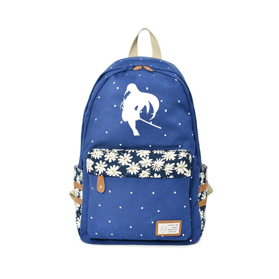 Mochila Akame ga Kill, bolsas de viaje point Kawaii, bolsas con diseño de Anime, mochilas de Anime japonesas de alta calidad para el regalo del Día de los niños de 2018