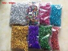 200 pces-1000 pces cabelo dreadlock tranças grânulos punhos ajustáveis clipes micro anéis para meninas acessórios masculinos atacado
