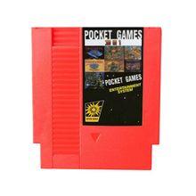 Nouveau 30 en 1 (économie de batterie) jeu de poche 72 broches 8bit livraison directe de cartes de jeu!