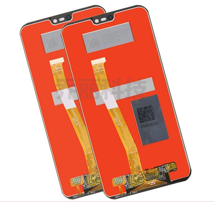"""Para Huawei lite p20/Nova 3E Display LCD Com Tela de Toque 5.84 """"digitador assembléia 1080*2280 livre grátis"""