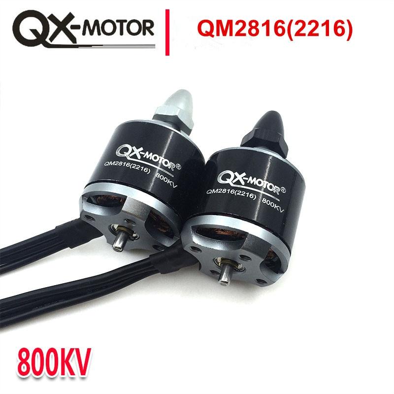 QX-MOTOR 2 uds QM2816 (2216) Motor 800/1100KV CW CCW para multicopter Quad-Copter El mismo con EMAX mt 2216