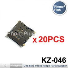 20/50/100PCS For HTC One M7 801e 802d 802w 802t ONE SV C525e One X G23 S720E SIM Card Tray Slot Holder Socket Connector Repair