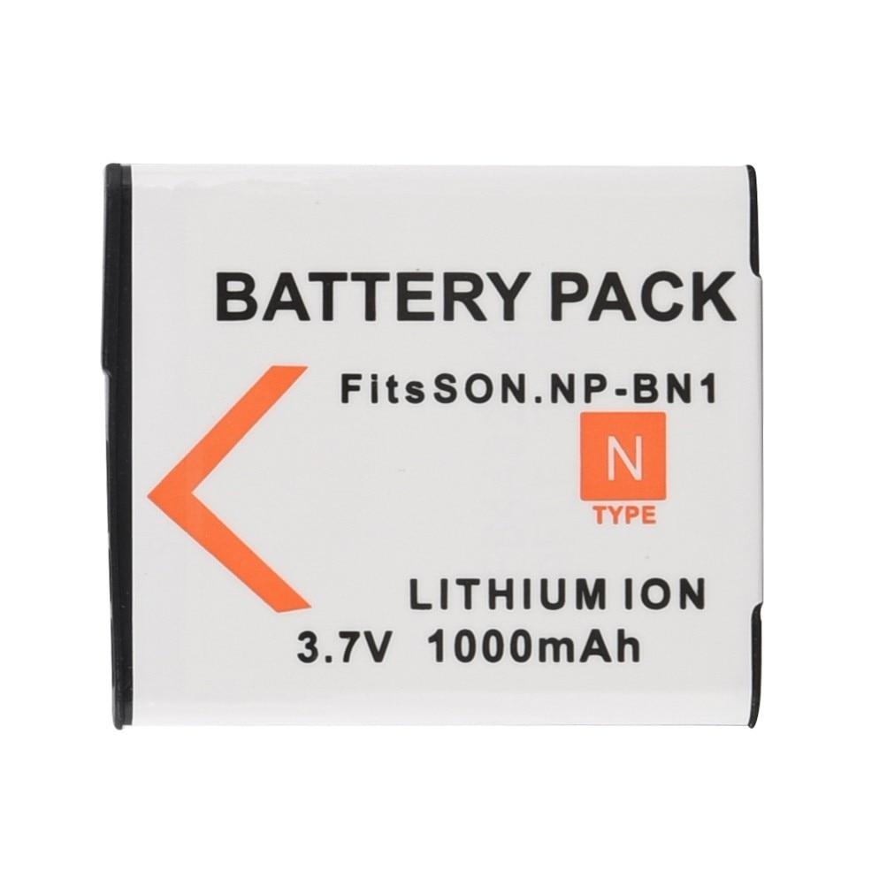 Цифровой аккумулятор NP BN1 1000 мАч, сменный литий-ионный аккумулятор для камеры Sony TX9 WX100 TX5 WX5C W620 W630 W670 TX100