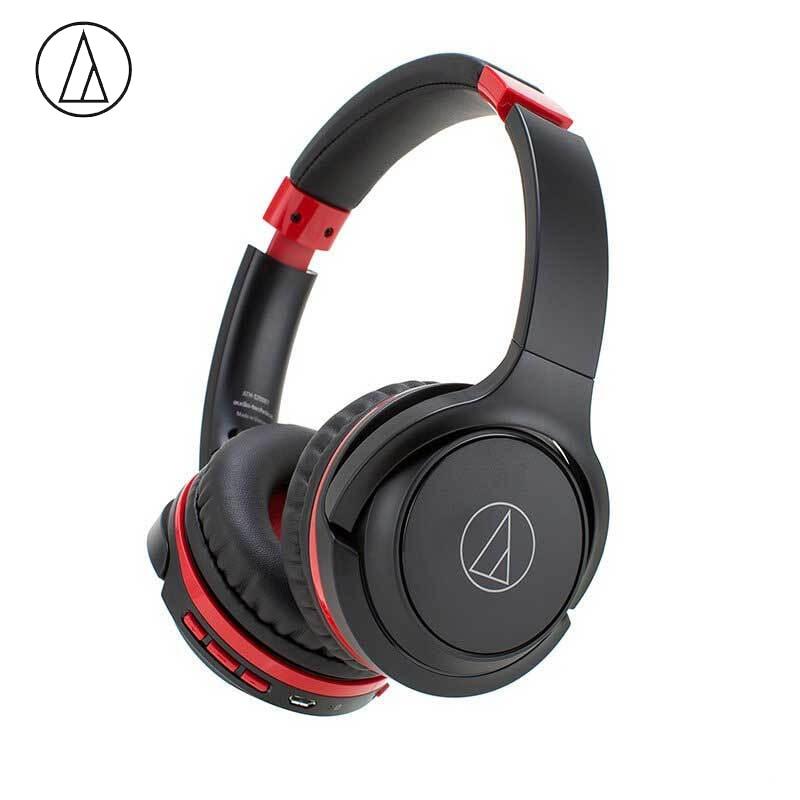 Original de Áudio Fone de Ouvido Música sem Fio Fone com Controle Remoto com Microfone Technica Bluetooth Dobrável Ath-s200bt