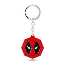 Nuevo llavero de máscara Deadpool, joyería de moda de Metal de superhéroe para Fans, llavero de mujer, bolso de coche de Anime, soporte para llavero