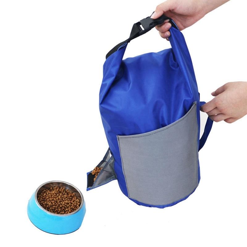 Bolsa de almacenamiento portátil para mascotas, 10L, bolsa de viaje impermeable, bolsa de almacenamiento para comida perros de gran capacidad