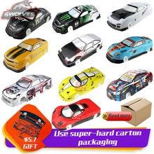 37 species 1/10 RC Car 195/190mm PVC painted Body Shell with tail for 1:10 RC hobby racing drift car hsp yokomo hpi ZD TAMIYA