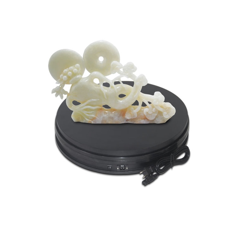 dia 15CM, h6cm plastic electric rotation retail store display turntablefor product rotary table