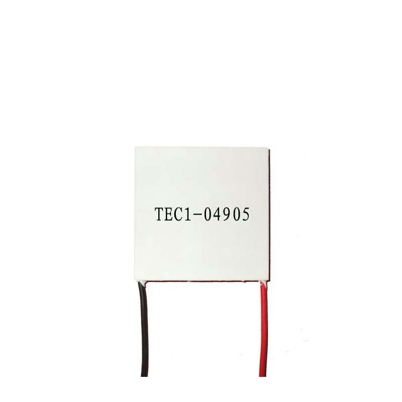 1 STÜCK 25x25x3,8mm 5A 5,78 V 17,1 Watt TEC1-04905 Thermoelektrischen Kühler Peltier Kühlkörper