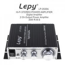 Amplificateur stéréo de 20W x 2 2CH   Amplificateur numérique Audio de classe-D, amplificateur de puissance stéréo avec Protection de surcourant